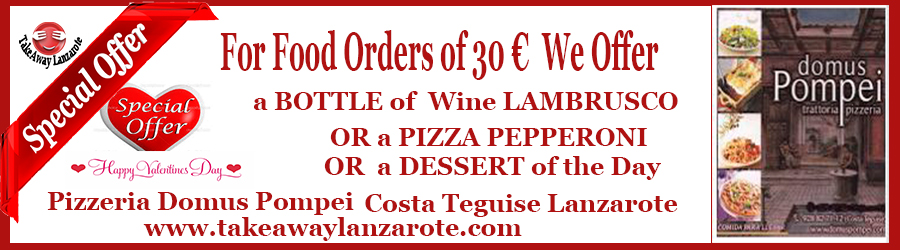 Pizzeria, Italian Restaurant Costa Teguise Food delivery   Takeaway, Costa Teguise, Lanzarote