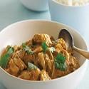 Pollo frito con salsa Satay