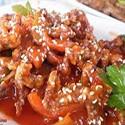 Crispy Chicken with Chilli Sauce