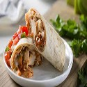 Chicken Burrito with Roasted Bell Peppers