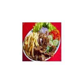 Beef Kebab Dish