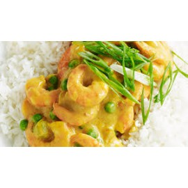 Curry Prawns