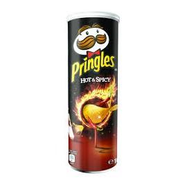 Crisps Pringles 165 gr. Hot & Spicy
