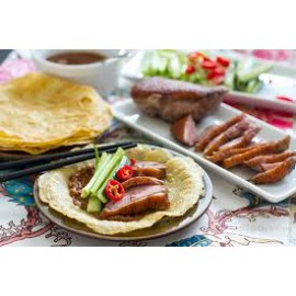 Peking Duck with pancackes
