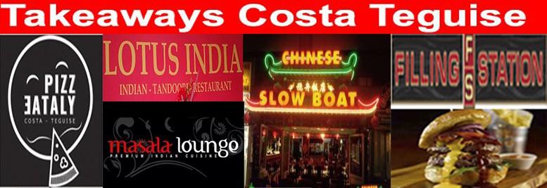 Reparto a domicilio Costa teguise, comida para llevar, pizza, kebab, comida hindu