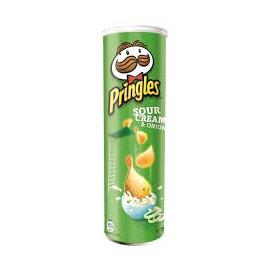 Pringles Crisp 165gr Sour Cream and Onion