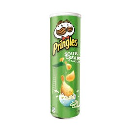 Pringles Crisp 165gr Sour Cream and Onion
