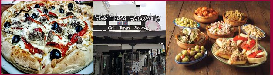 La VACA Loca Restaurant Takeaway, Costa Teguise, Lanzarote