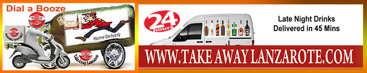 Dial a Booze, Costa Teguise, Late night Delivery Service, 24 hours - Takeaway Gran Canaria order drinks