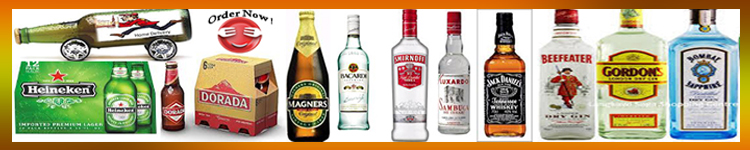Takeaway Lanzarote order drinks - Drinks Delivery across Lanzarote - Alcohol Delivery Lanzarote 24 hours