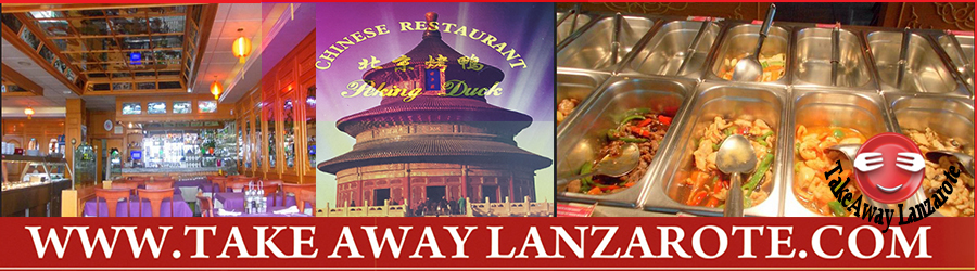 Peking Duck Chinese Restaurant Takeaway Puerto del Carmen, Food delivery Lanzarote, Lanzarote, food Delivery Lanzarote
