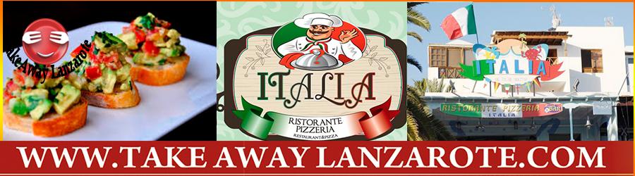 Italian Restaurant Lanzarote - Italia Restaurant Lanzarote Food delivery & Pick Up -  Takeaway Puerto del Carmen, Food delivery Lanzarote, Lanzarote, food Delivery Tias, Macher, Puerto Calero -Lanzarote