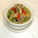 Chicken with Green Thai Curry