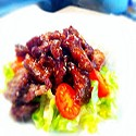 Crispy Beef with Chilli & Sweet and Sour