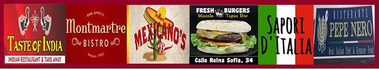 Takeaway Food Puerto Del Carmen, order food online. Choose your favorite restaurant in Puerto del Ca