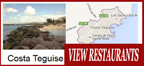 cOSTA teguise Food Delivery Restaurants Takeaway, Lanzarote