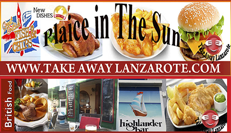 Fish & Chips Lanzarote | Fish & Chips Takeaway Delivery Lanzarote | Fish & Chips Playa Blanca - Costa Teguise - Puerto del Carmen
