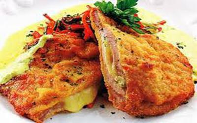 Chicken escalope Napolitana - Takeaway Lanzarote