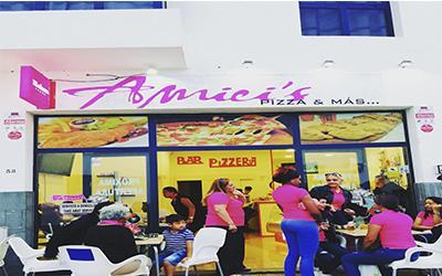 Pizzeria Amici Playa Blanca - Pizzas XXL a Domicilio Takeaway Lanzarote