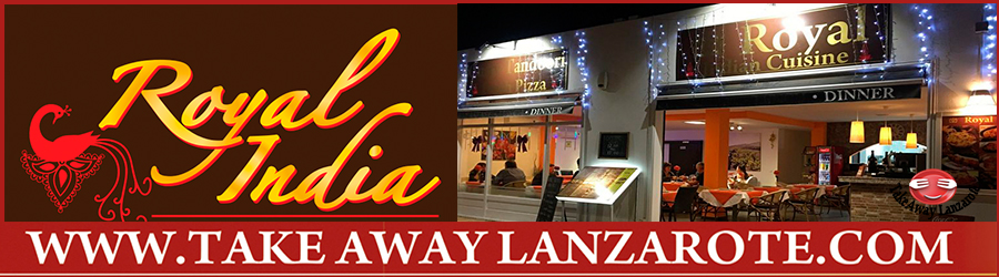 Indian Restaurant Costa Teguise Royal Indian Lanzarote - Takeaway & Pick up  Takeaway Costa Teguise, Lanzarote, food delivery Teguise , tahiche Yaiza, Femes, Lanzarote