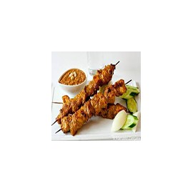 Chicken Stick wth peanuts sauce