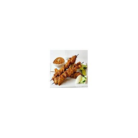 Pallitos de Pollo con Salsa de Cachuetes