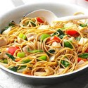Chicken stir-fried noodles