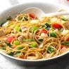 Chicken stir-fried noodles
