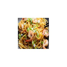 Prawn stir-fried noodles