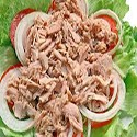 Tomate, Tuna, Onion Salad