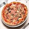 Pizza Ham and Mushrooms