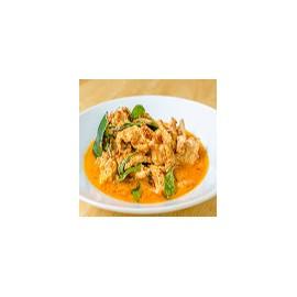 Cerdo con salsa curry