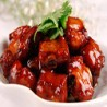 Spare ribs with sweet & sweet sauce