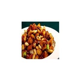 Pollo frito con Anacardos