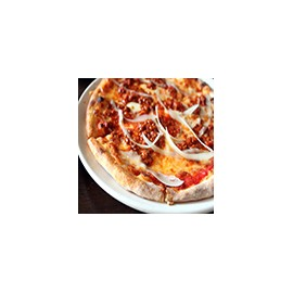 Pizza Alla Carne (Bolognese)