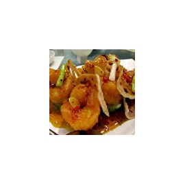 King Prawns with Chilli sauce
