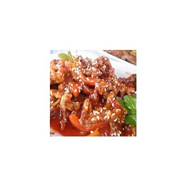 Crispy Chicken with Chilli Sauce