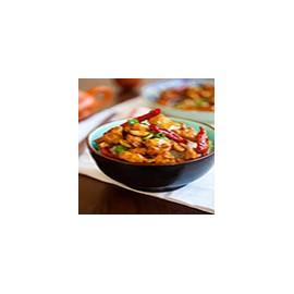 Pollo con salsa Kong Bao
