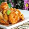 Langostinos con salsa Kong Bao