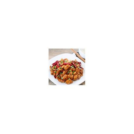 Pollo en salsa de Kung-Po
