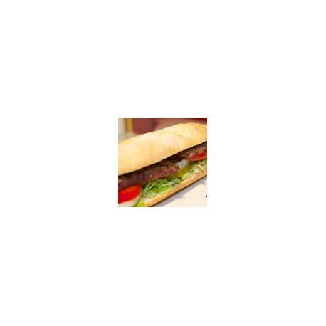 Bocadillos BBQ (Ternera, Pollo, Bacon, Cebolla, Queso y Salsa BBQ)