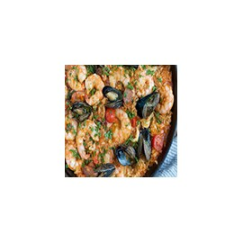 Seafood Paella (minimum 2 persons)
