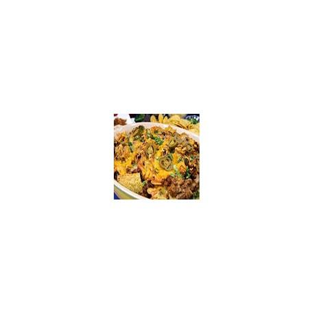 Nachos Telanos con Queso y Chilli con Carne