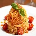 Spaghetti en salsa de tomate