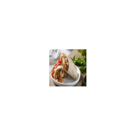 Burrito de Pollo con Escalivada de Pimientos