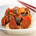 Dou Fu con salsa agridulce