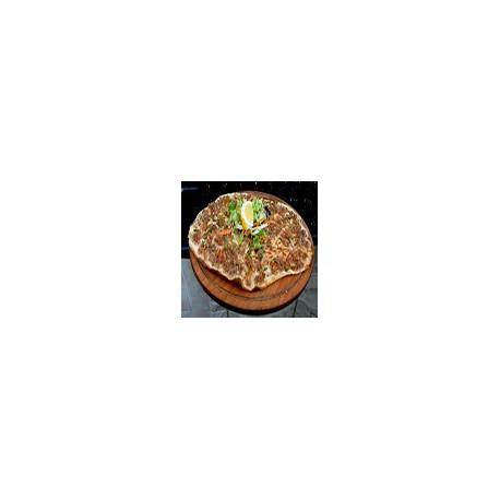 Chicken Turkish Pizza