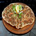 Chicken Turkish Pizza