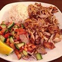 Chicken Kebab Dish