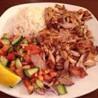 Plato de Kebab Pollo